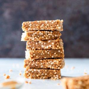Healthy peanut butter bars
