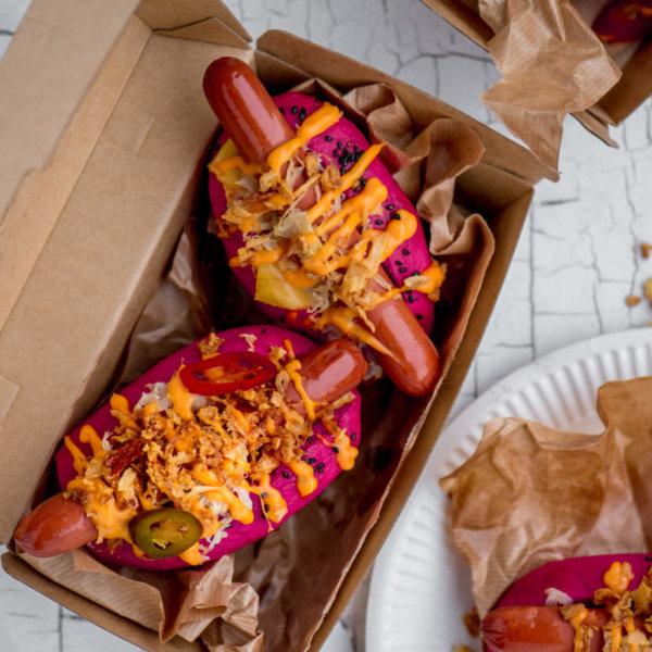 Vegan hotdogs