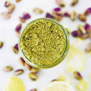 Citroen-pistachepasta
