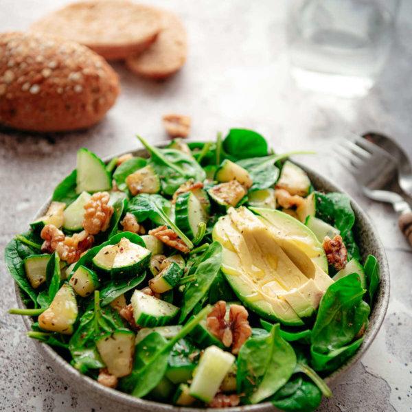 Snelle groene salade